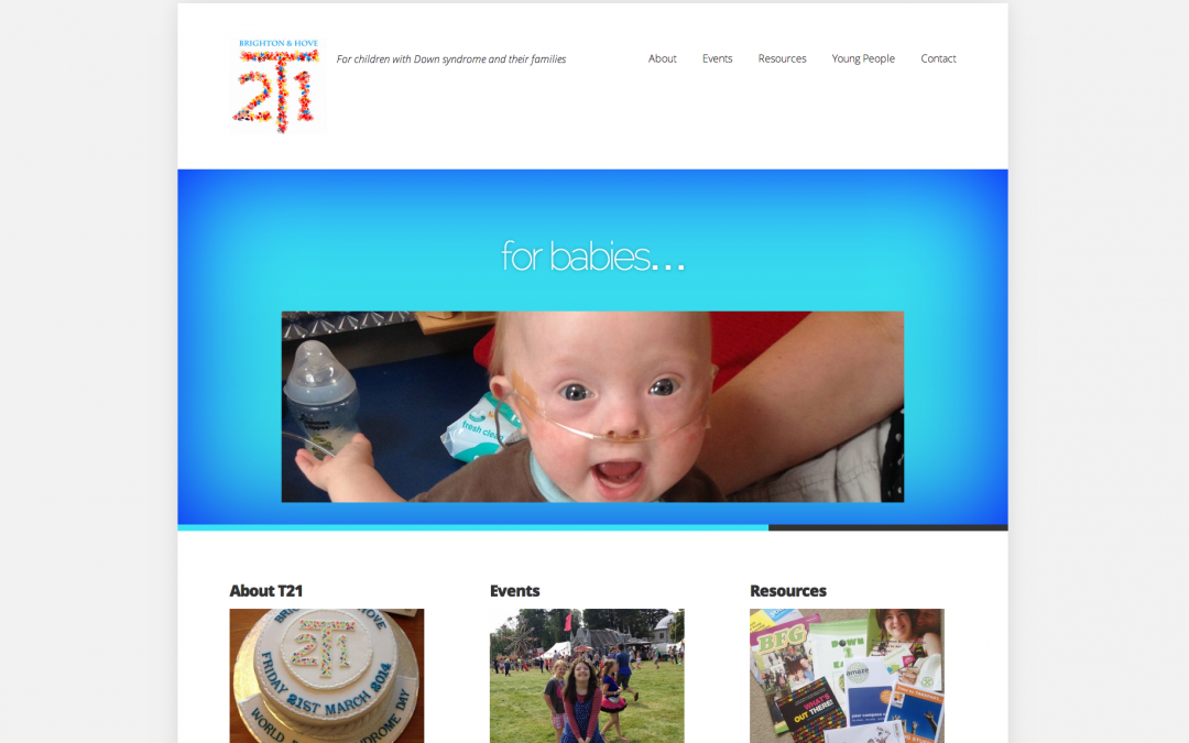 New website for T21